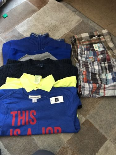 boys summer/winter clothes lot size 8/10 New