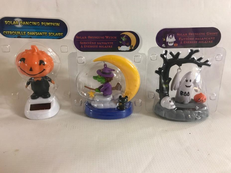 Halloween Themed Solar Dancers - 3 Pack (Package J10)