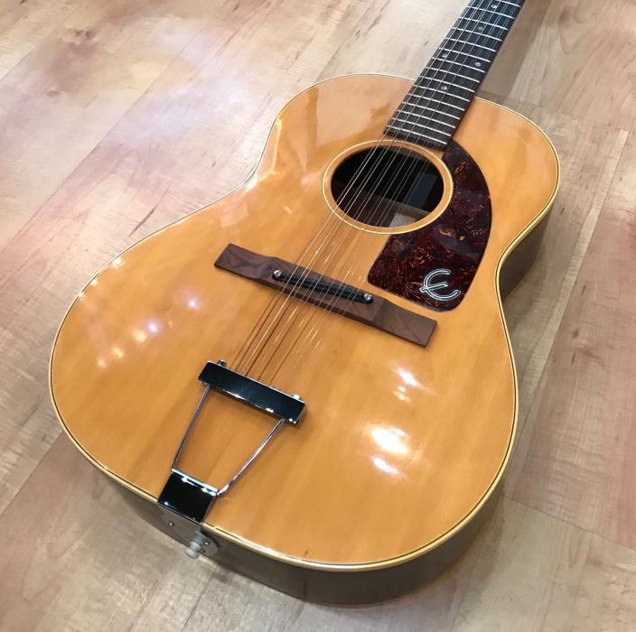 Vintage 1967 Epiphone FT-85 Serenader 12-String Acoustic Guitar (Natural)