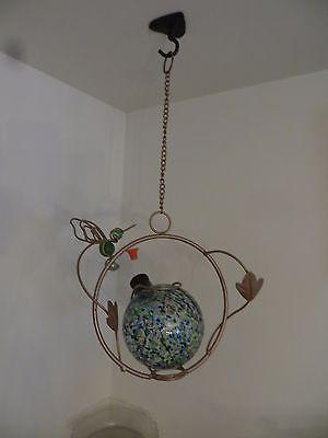 Hummingbird feeder nectar feeder hanging art