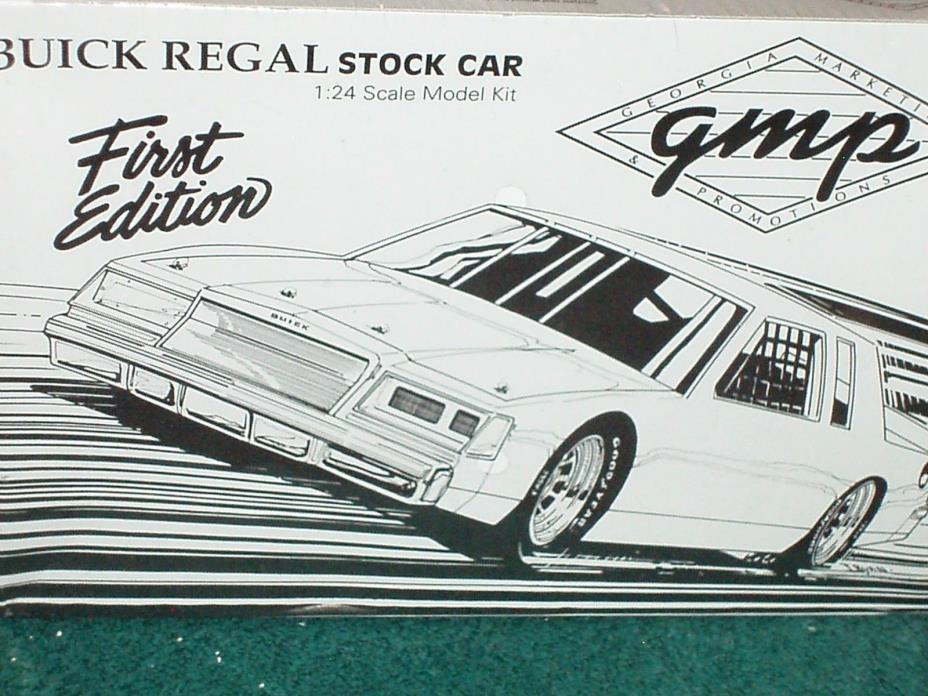 GMP BUICK REGAL STOCK CAR HARDTOP PLASTIC MODEL KIT 1/24