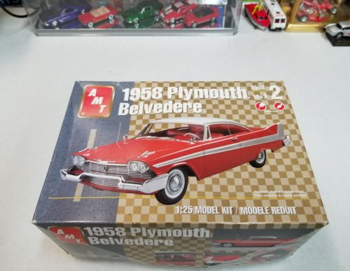 AMT 1958 Plymouth Belvedere 1/25 scale Kit # 31927