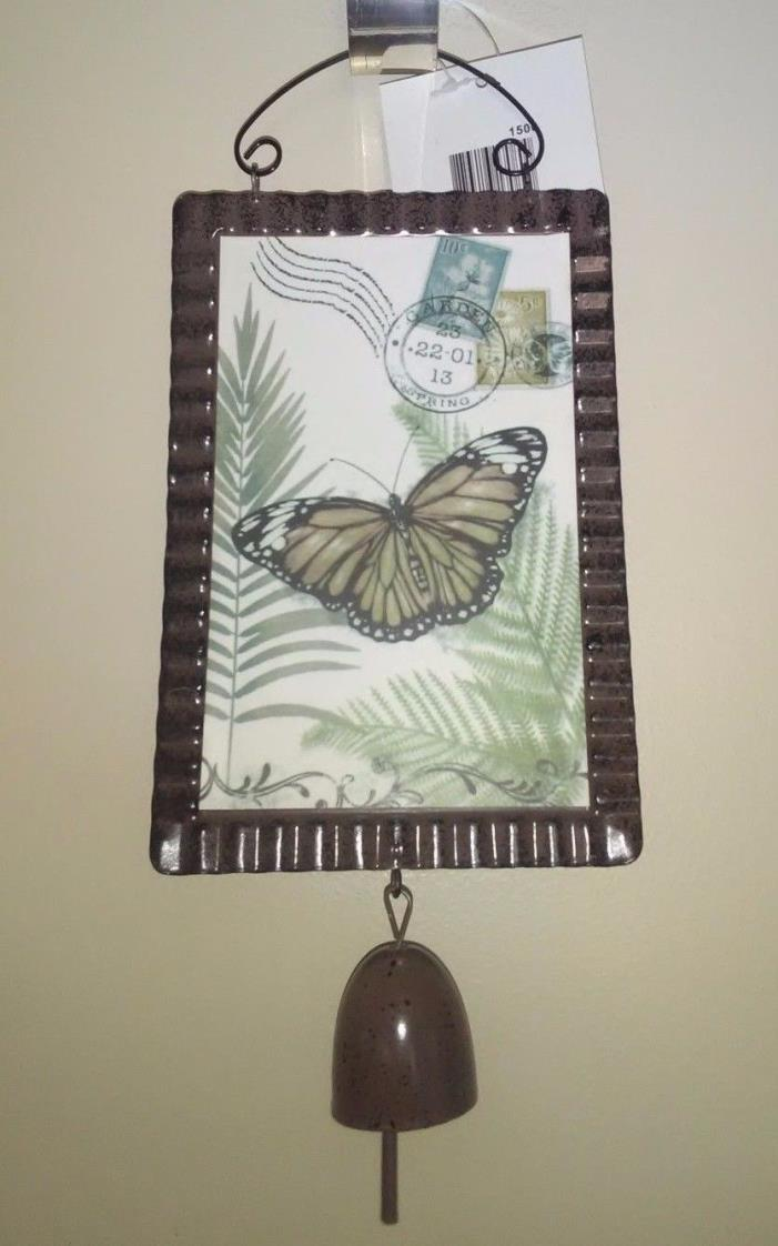 Butterfly Plaque Garden Hanging Decoration