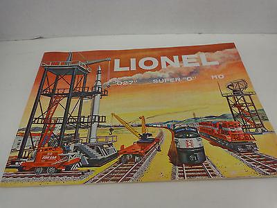 Original 1958 Lionel Catalog Mint Condition