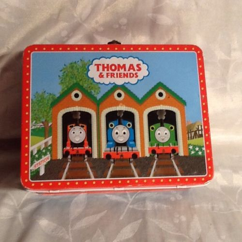THOMAS THE TANK ENGINE METAL LUNCH BOX