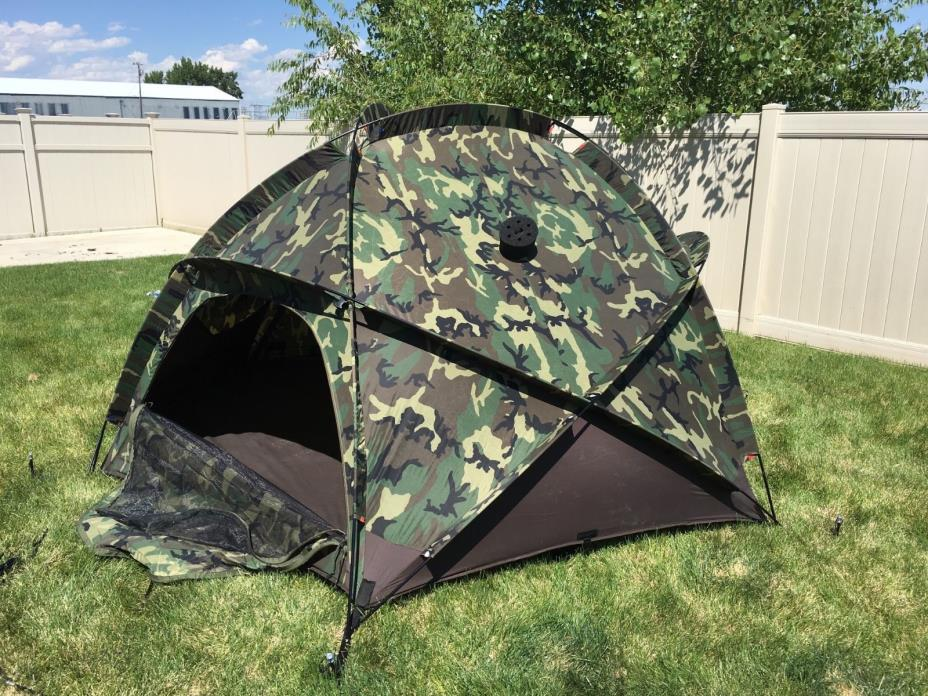 RARE Eureka USMC Military ECWT Extreme Cold Weather Tent with all Componets
