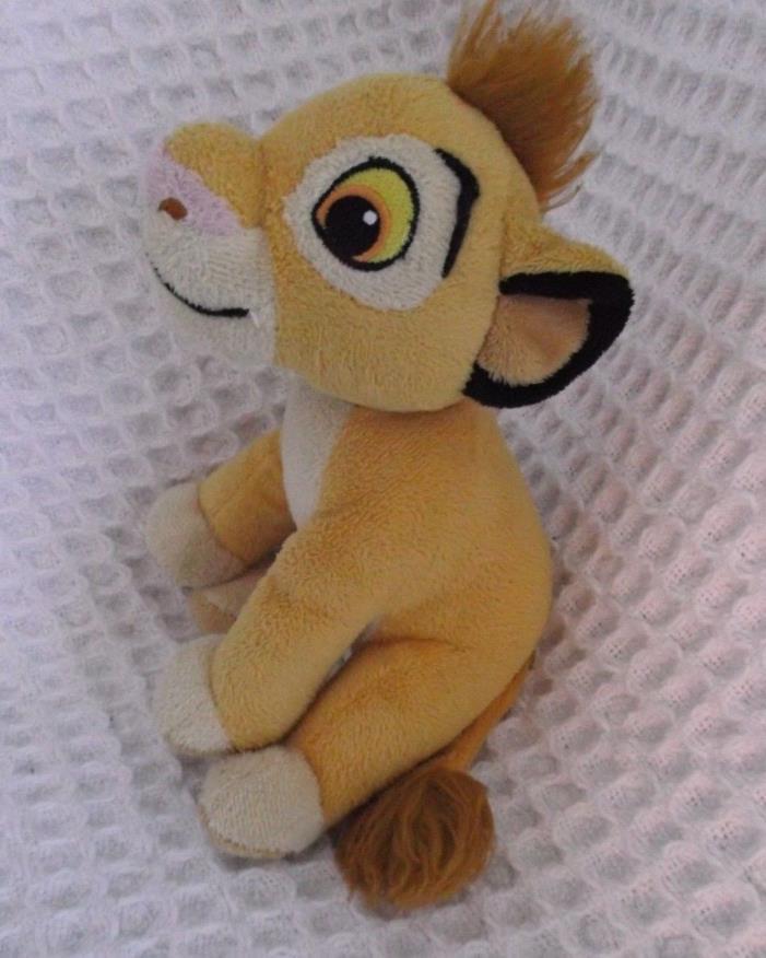 Lion King Simba Cub Stuffed Animal Plush Toy Sewn Eyes 8