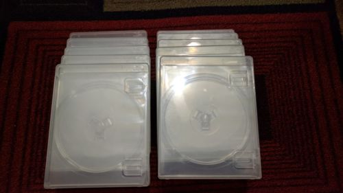 10 PS3 Game Clear Single Disc Case BluRay Logo