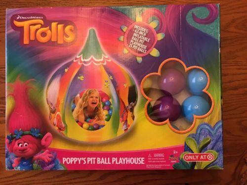 Trolls Poppy's Pit Ball Playhouse