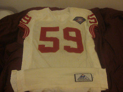 1994 NFL Football New York Giants Game Used Jersey #59 Brian Williams