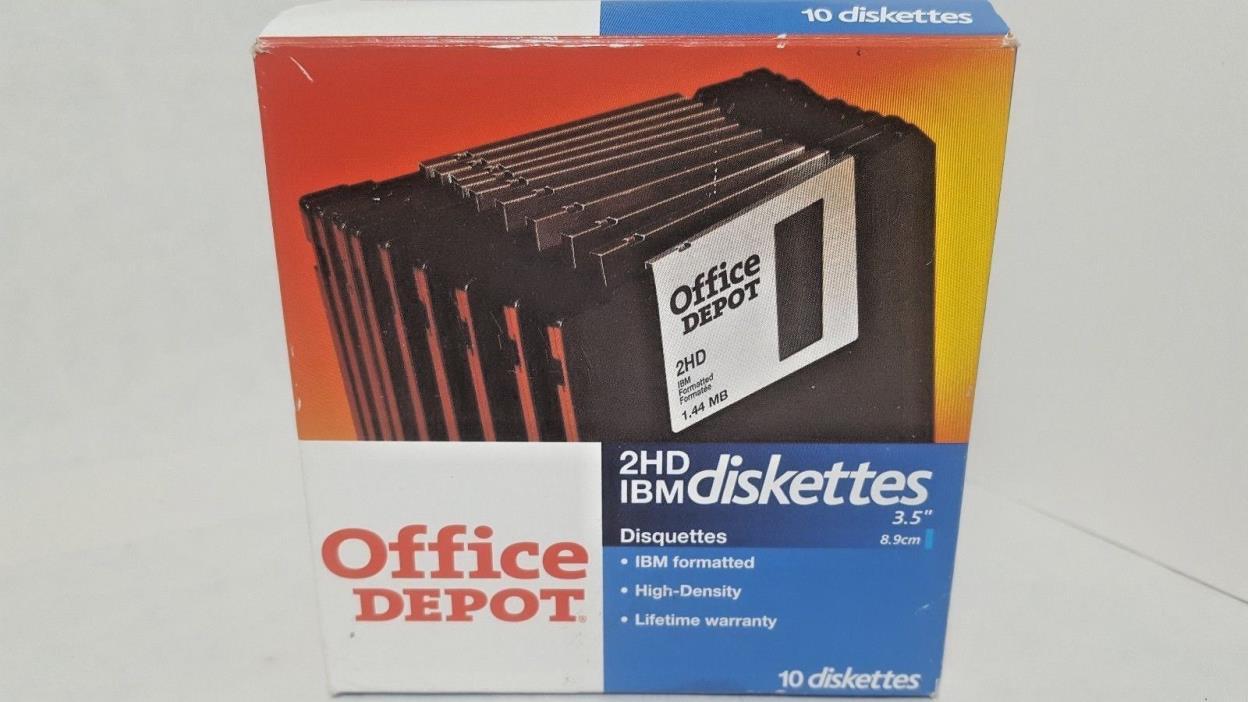10 IBM Diskettes 3.5
