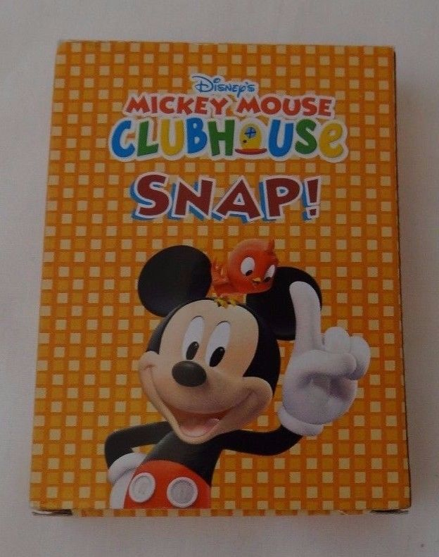 Disney Mickey Mouse Clubhouse SNAP Card Game