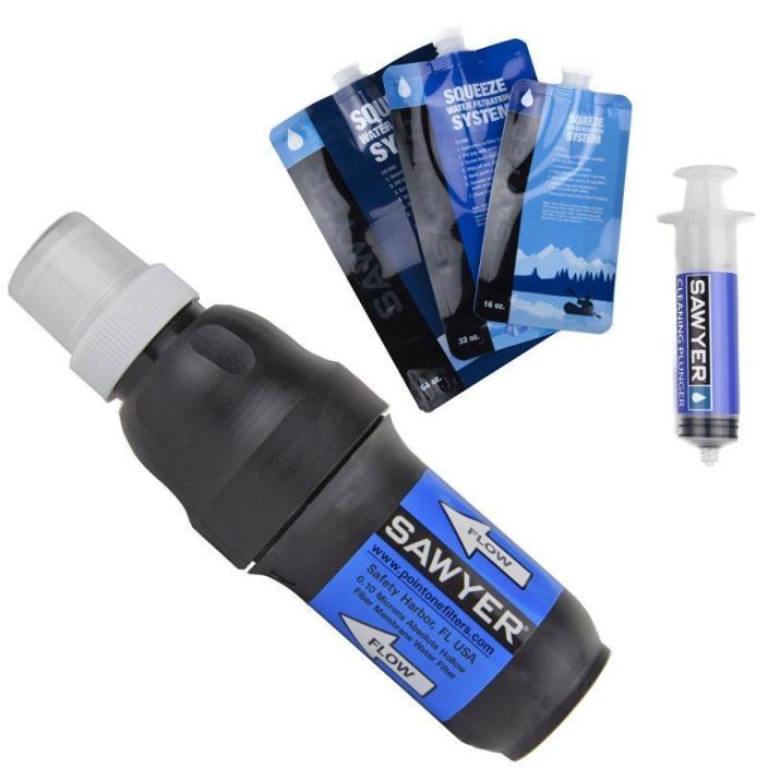 NEW Sawyer Products PointOne Squeeze Water Filter System  SP 131 FREE SHIPPING