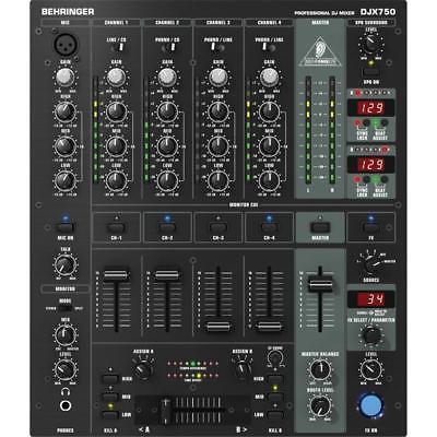 Behringer DJX750 5-Channel Professional DJ Mixer