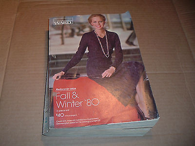 Vintage 1980  Montgomery Ward Fall & Winter Catalog - Retro Fashions