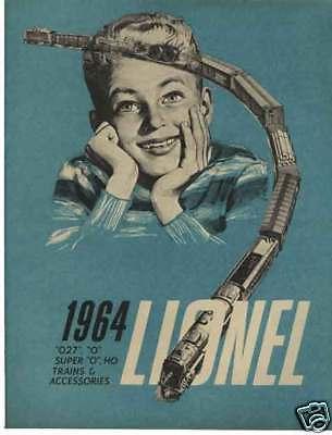 Original 1964 Lionel Trains Catalog in Mint Condition