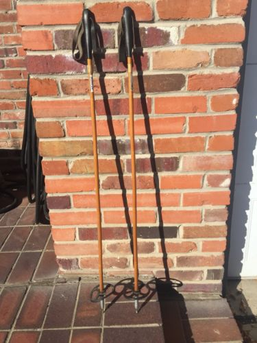 106 CM Norge-Ski Vintage Bamboo Poles