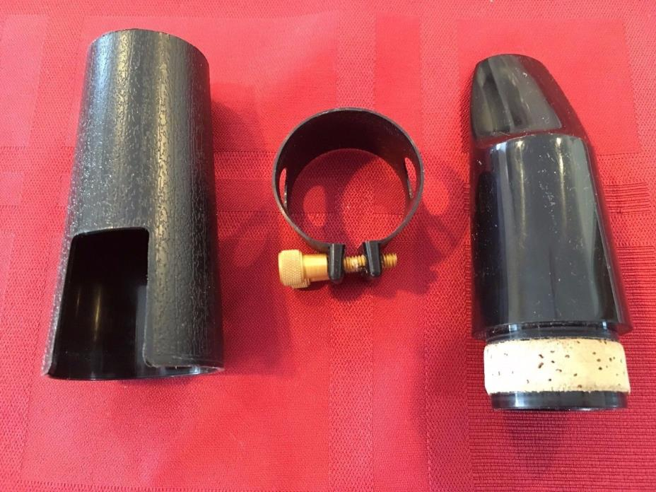 BASS CLARINET MOUTHPIECE, LIGATURE AND CAP
