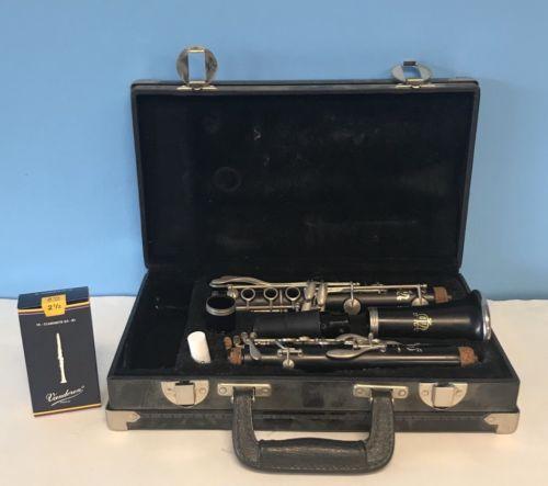 Excellent Leblanc Kenosha Wis Clarinet D97412/7214 Very Good Condition!!