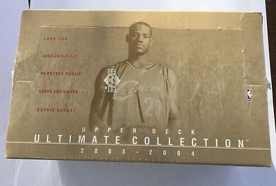 {13} SEALED Boxes of 2003~2004 Ultimate Collection Basketball<>VERY RARE