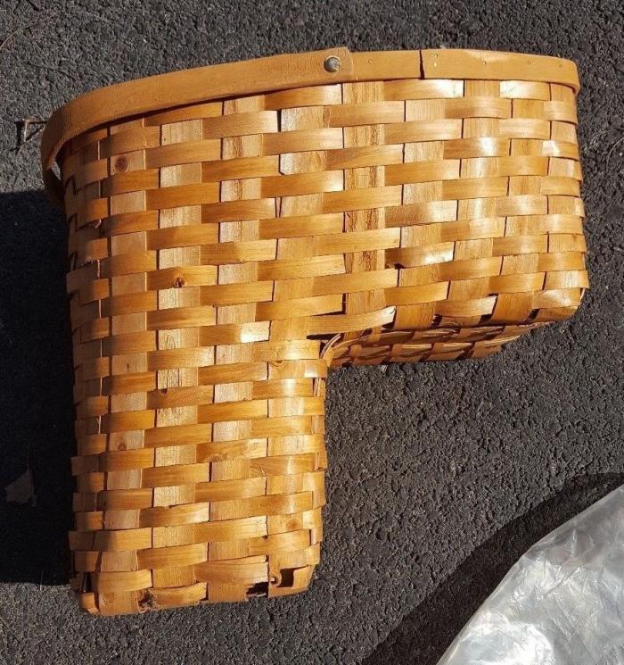 Wicker Stair Basket