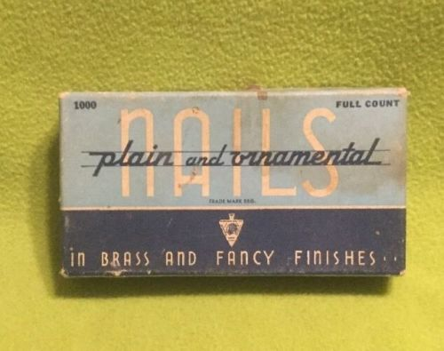 Vintage ~ Upholstery Nails / Tax ~ MATTATUCK Products ~ 1000