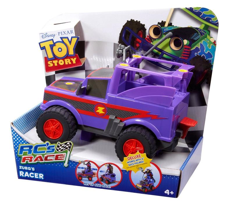 Toy Story RC''s Race Zurg Vehicle-Rare.