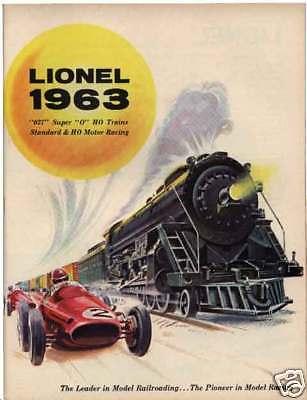 Original 1963 Lionel Catalog Mint Condition