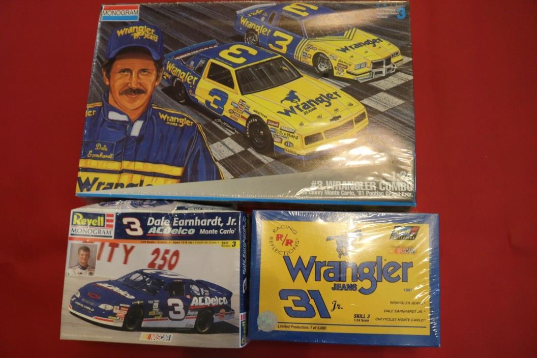 Dale Earnhardt #3 Wrangler Combo & Dale Earnhardt Jr. #31 wrangler & #3 ACDelco