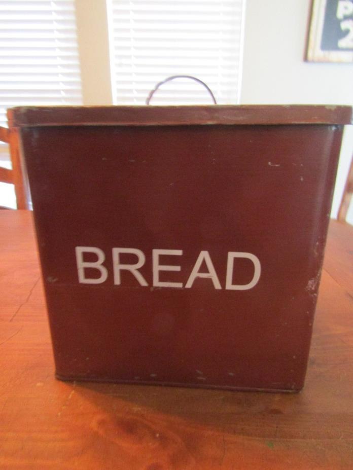 Large Metal Bread Box