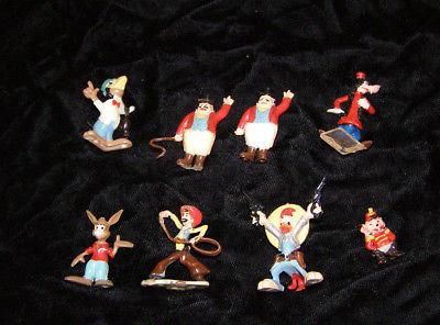 Disneykin Lot Marx Disney 1960s Goofy Brer Rabbit Joe Carioca Dumbo Characters +