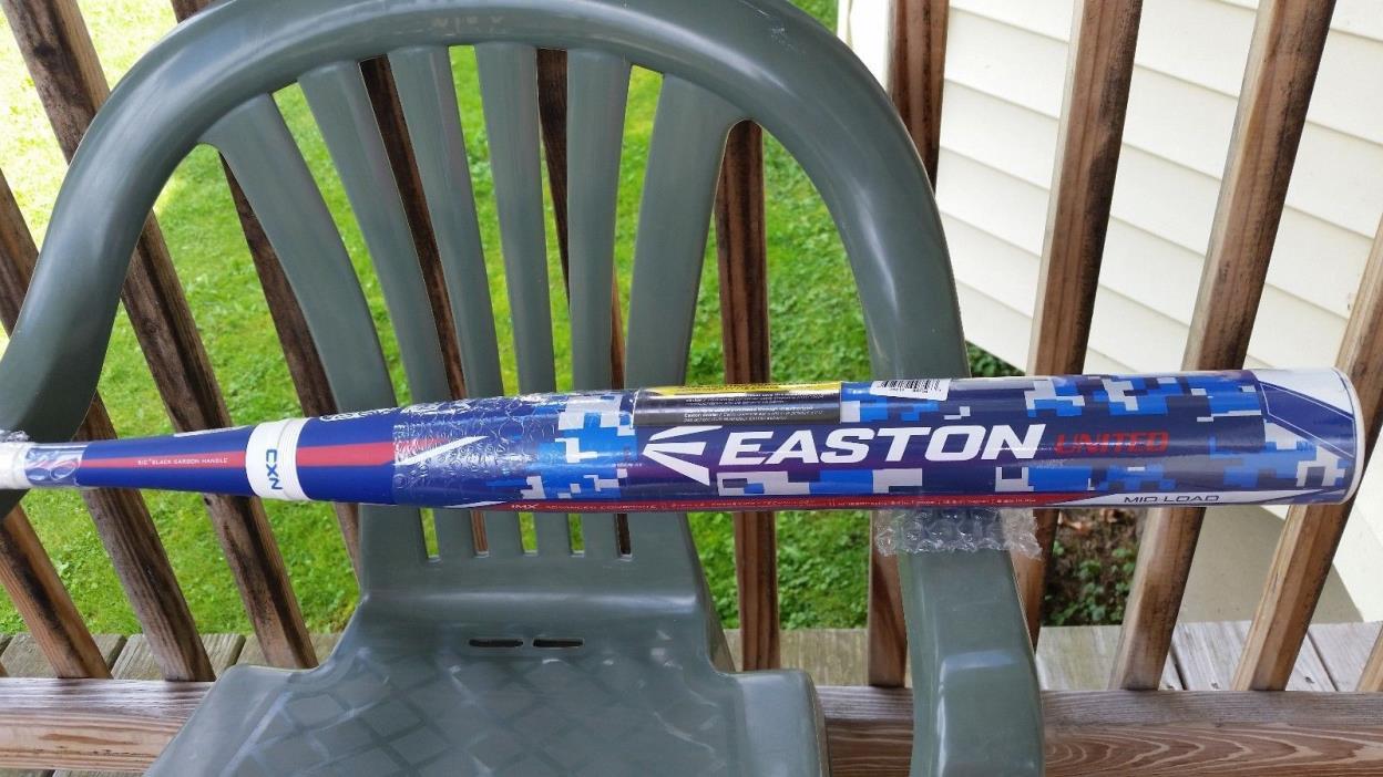 NIW Easton United SP15SPCAU (28oz) SPC Sports/Dual Stamp/Slow Pitch Softball Bat