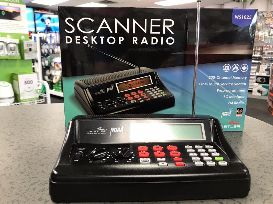 Whistler Scanner Desktop Radio WS1025