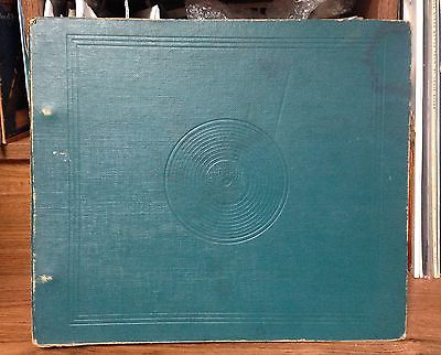 Vintage 78 RPM Record Binder #1070 w/10 Page Sleeves Made In USA