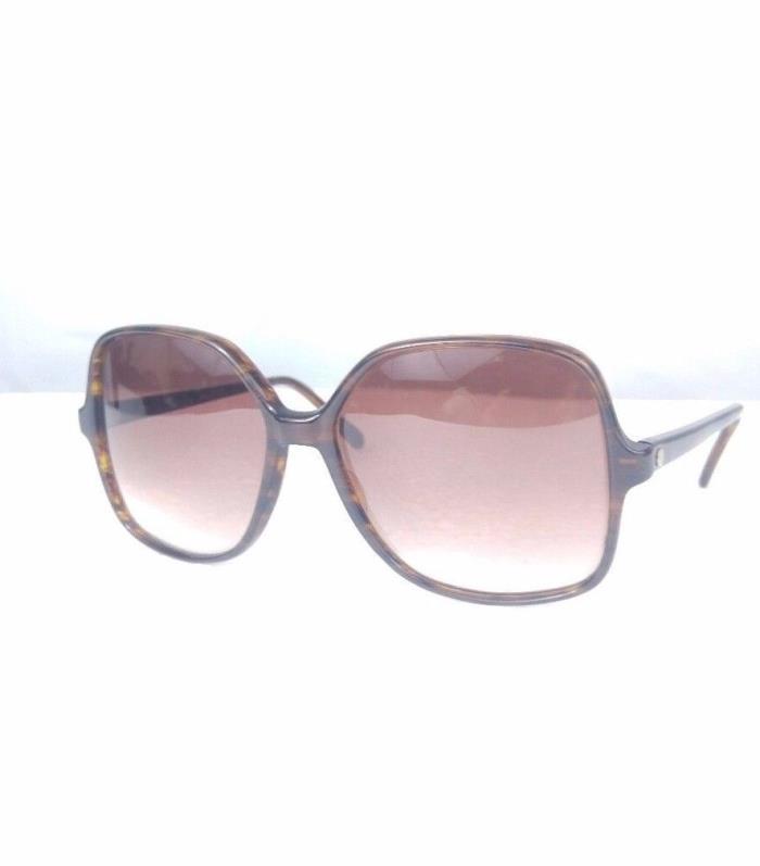 Original 70's 80's  Women Sunglasses Round Oversized Vintage Tortoise made USA
