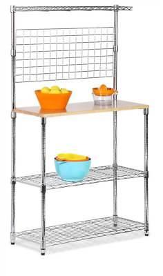 Chrome 2 Shelf Urban Baker's Rack [ID 55031]