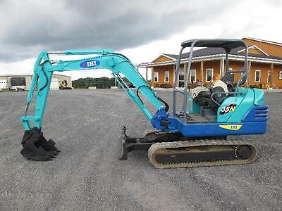 IHI 35N Mini Excavator Farm Tractor Dozer
