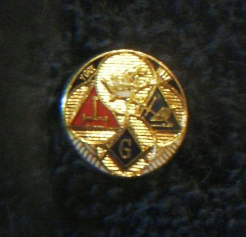 vintage masonic lapel pin