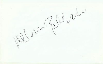 William Baldwin autograph