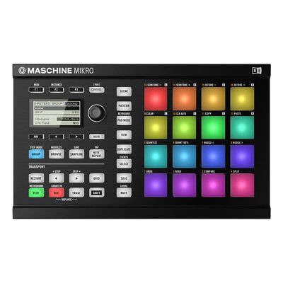 Native Instruments Maschine Mikro MKII Groove Production Studio (Black)