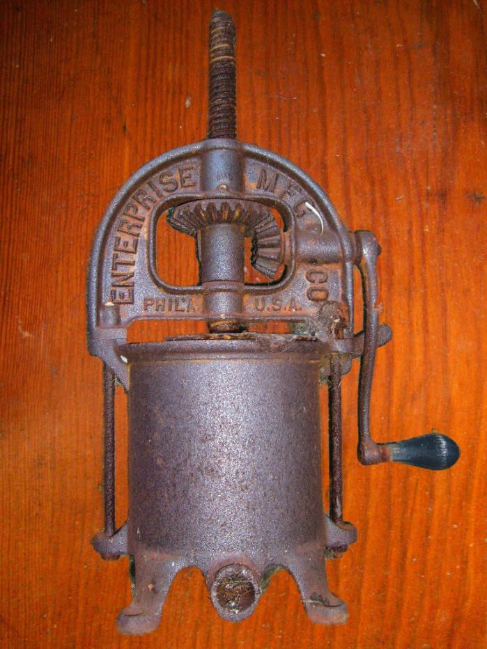 Vintage antique Enterprise sausage stuffer