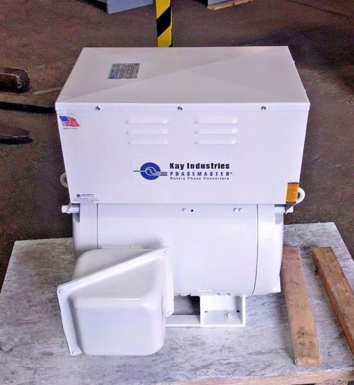 Kay Industries Rotary Phase Converter  MA-6   30 HP  Great Buy!