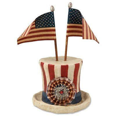 Americana Hat With Flags