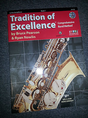 TRADITIONS OF EXCELLENCE Eb ALTO SAXOPHONE BOOK 1