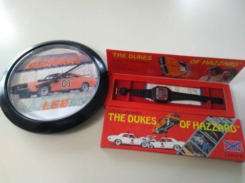 Dukes of Hazzard Watch and Clock