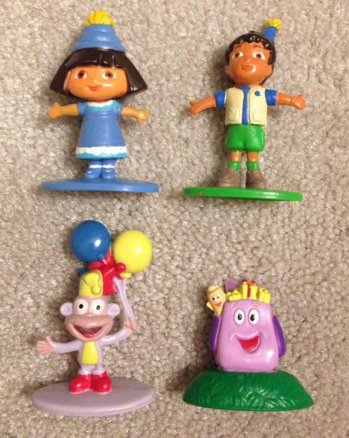 Dora Cake Topper Figures