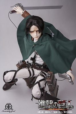 1/3 Dolk I.O.S. IOS Levi Rivaille BJD Survey Corps.+ Cleaning Outfit RARE!!!