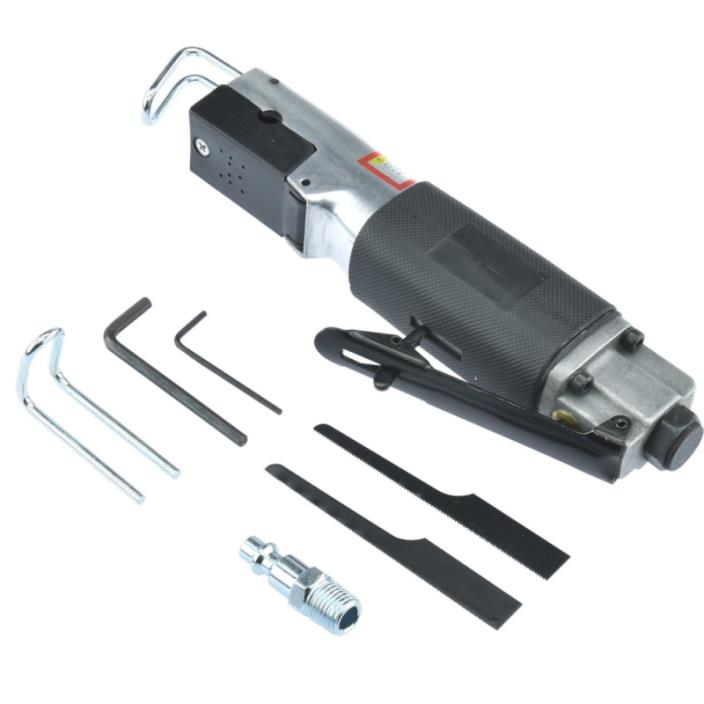 Reciprocating Air Body Saw,9000 SPM   Auto-Lock Safety Trigger   1/4