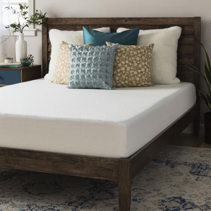 Hypoallergenic 8-inch Full-size Memory Foam Mattress Bed Sleep Comfort Bedroom