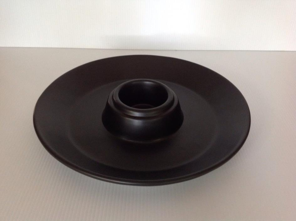 POTTERY BARN CHIP AND DIP SERVING DISH HALLOWEEN NEW RARE
